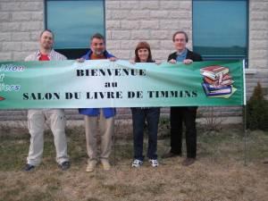 Auteurs derrière la bannière de  Timmins 2008
