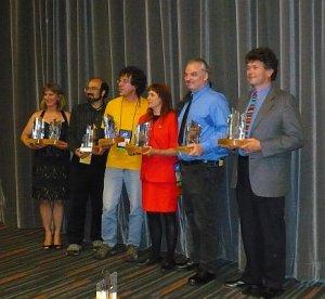 Lauréats des prix Aurora
