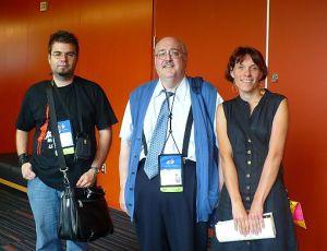 Philippe Aubert-Coté, MarioTessier et Julie Martel