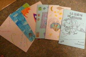Cartes de remerciements par les élèves