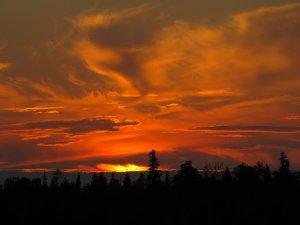Coucher de soleil sur Tobermory