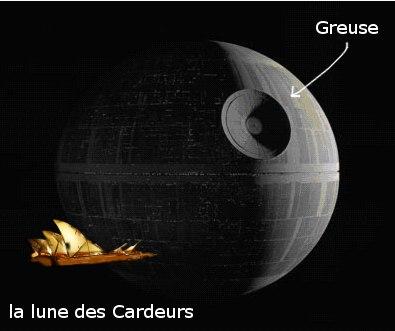 La lune des Cardeurs avec la cité creuse de Greuze