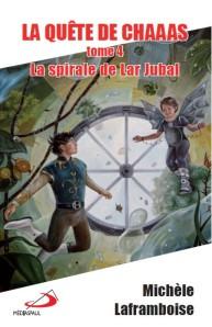 couverture de Chaaas 4 - La spirale de Lar Jubal, par Sybiline