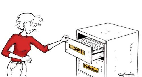 Mentalité à tiroirs : Climat et pollution ne sont pas séparés
