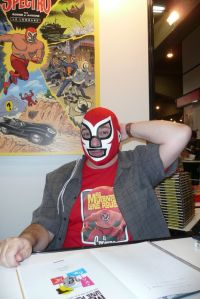 Yves Rodier derrière le masque de El Spectro!