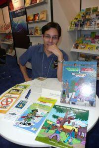 Jocelyn Jalette, un auteur qui fait oeuvre d'éducation sociale du jeune public.