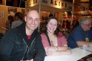 Auteurs ALIBI: Geneviève Blouin et Richard Tremblay (mon ami Goodreads qui publie son premier texte professionnel!