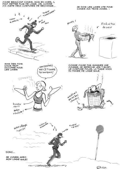 Comment faire son jogging en hiver...