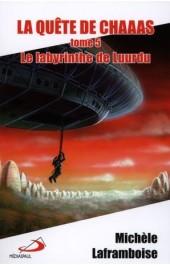 Courveture du roman Le labyrinthe de Luurdu
