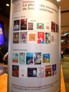 Couvertures de livres électronique... Ithuriel est en lice!