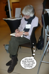 Marguerite Andersen, 88 ans, a réglé le problème à sa façon!