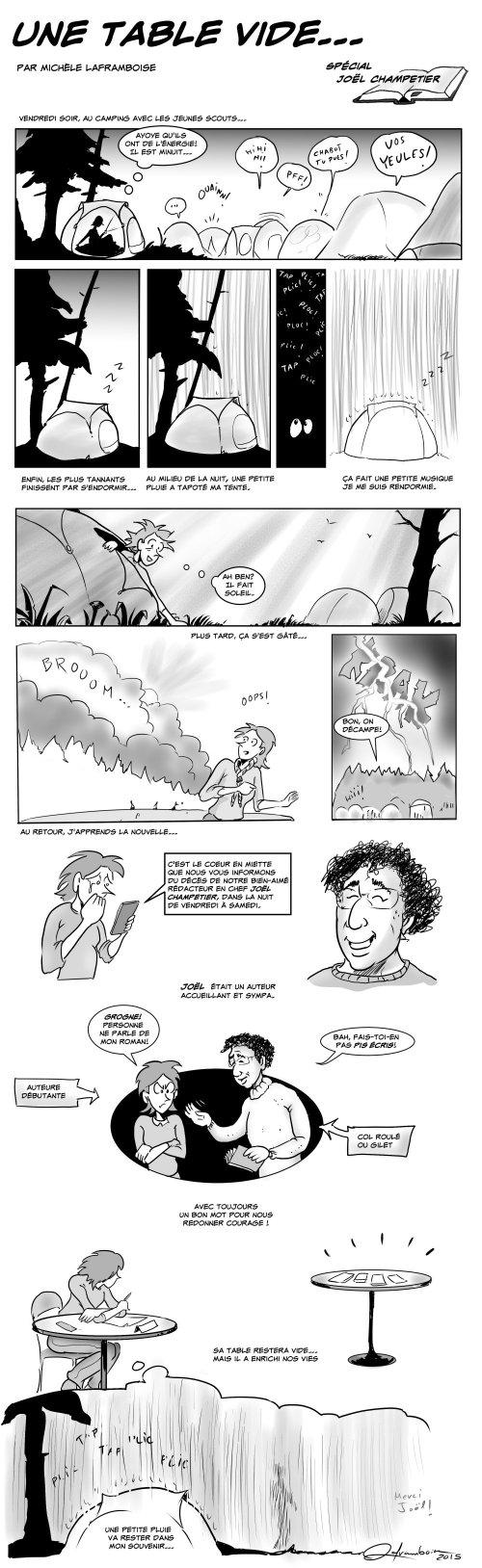 Jour sombre pour le milieu de la science-fiction et du fantastique québécois. Un de ses piliers, Joël Champetier, est décédé dans la nuit du 29 mai, après avoir livré une courageuse bataille contre le cancer. Il avait 57 ans.