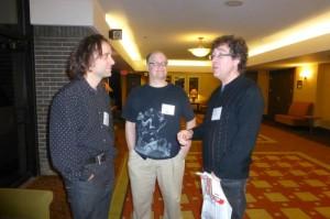 Trio d'auteurs: Frédérick Durand, Mario et Joel
