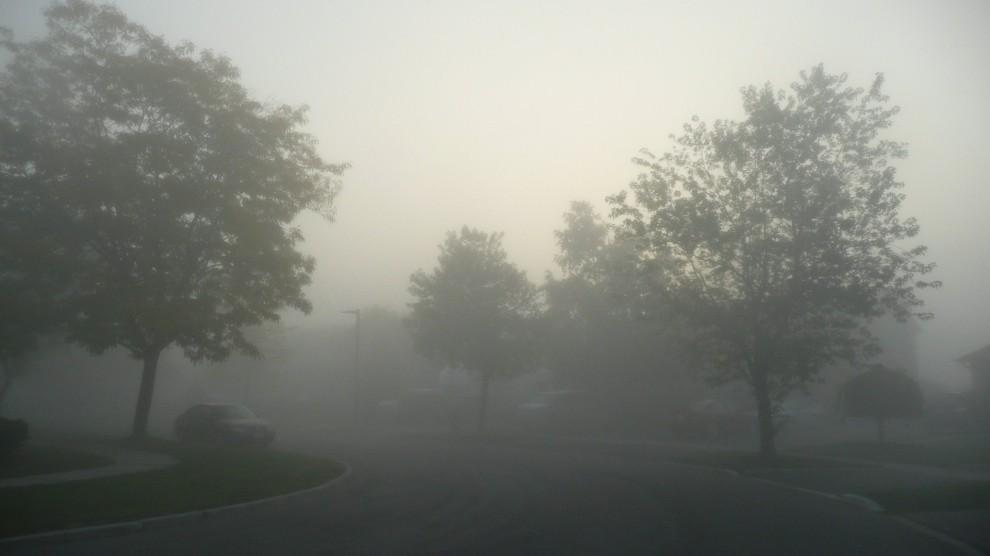 Brume au petit matin