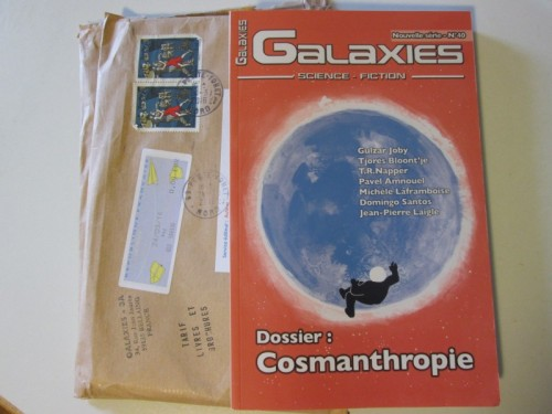 Couverture de la revue Galaxies