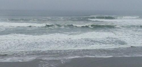 Les vagues dans toute leur puissance